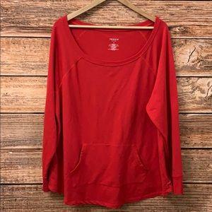 Torrid Active Red Sweatshirt